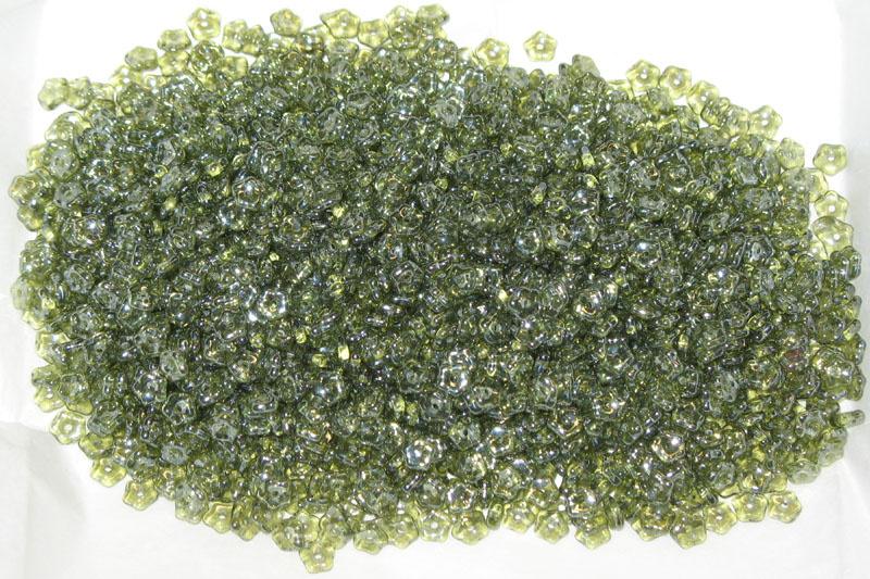 Daisy Lochrosen - Olivene Lustered 5mm - bag of 50